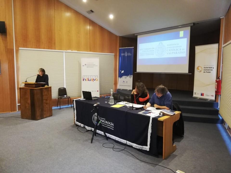 Danilo Martuccelli y Kathya Araujo en inauguración de doctorado psicología PUCV