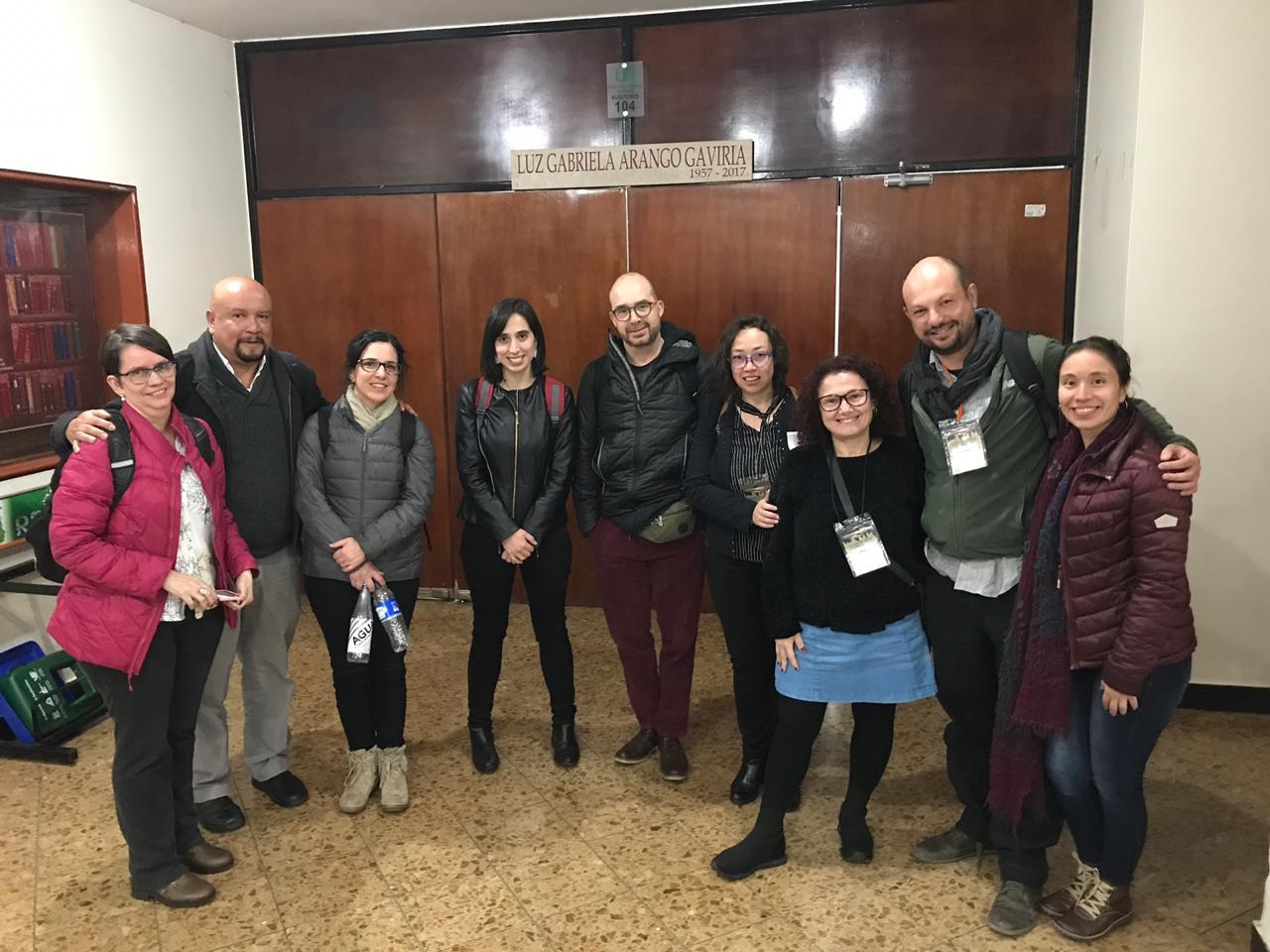 Integrantes de Núcleo Milenio Autoridad y Asimetrías de Poder participan del IX Congreso de ALAST realizado en Colombia