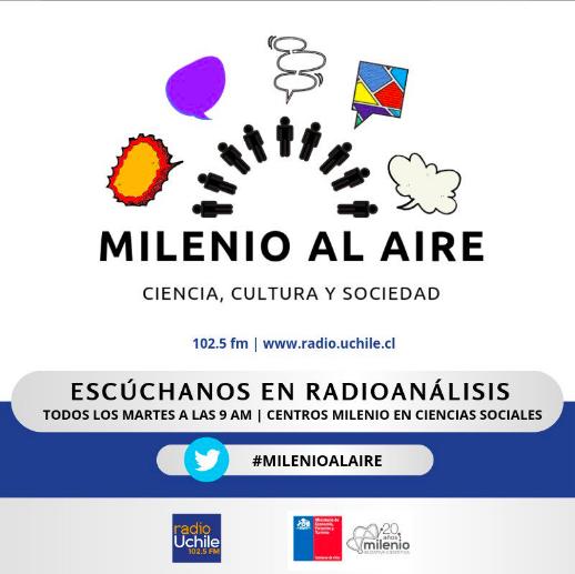 Núcleos e institutos Milenio en Ciencias Sociales se unen para crear espacio de conversación radial