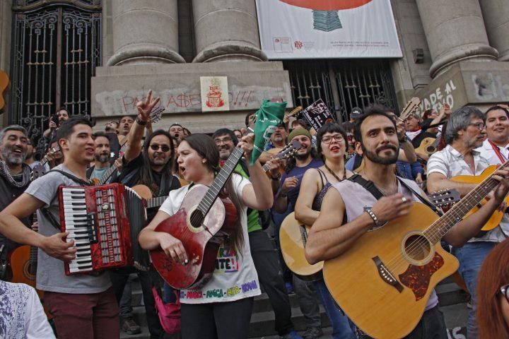 manifestaciones en Chile 2019