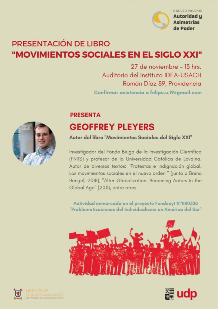 """Presentación del libro: """"Movimientos sociales en el siglo XXI"""""""