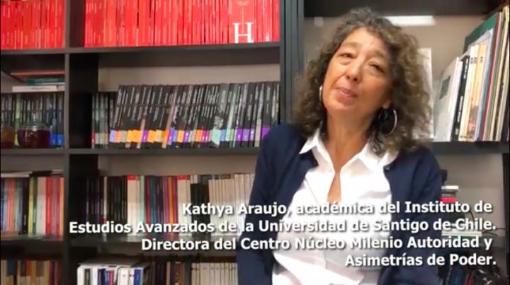 """Kathya Araujo: """"Una de las claves para poder entender y escuchar lo que está pasando es la cuestión del abuso"""""""
