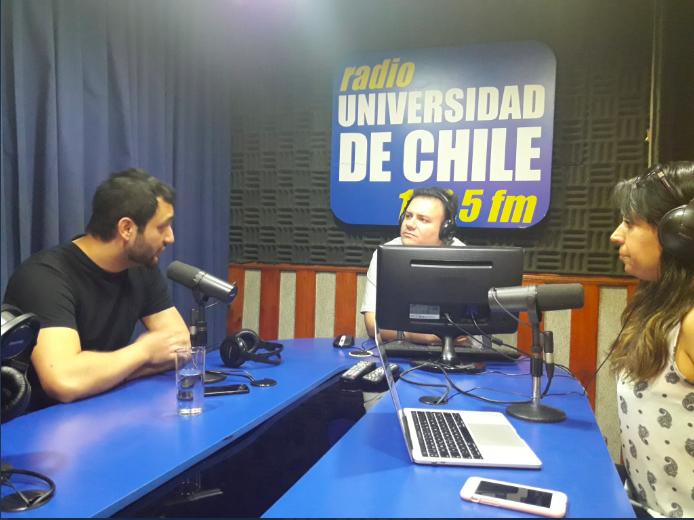 """Sección """"Milenio al Aire"""" Radio Universidad de Chile: Violencia contra la autoridad pedagógica en la escuela"""