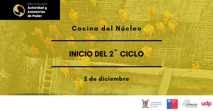 """Inicio 2º Ciclo de """"La Cocina del Núcleo"""